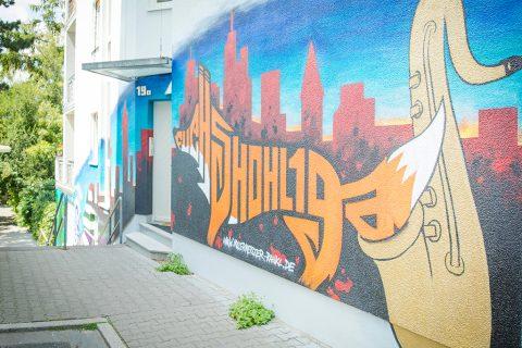 Projekt Fassadengestaltung Frankfurt